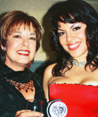 Photo of Sara Ramírez & her Mother  Luisa Vargas
