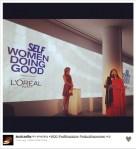Jessica Alba twittou foto do evento